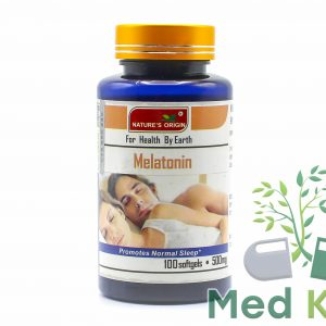 "Капсулы ""Мелатонин"" (Melatonin) для сна"